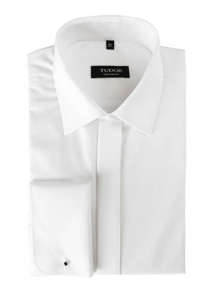 Elegancka męska koszula z długim rękawem